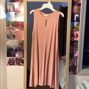 light pink dress size women's medium